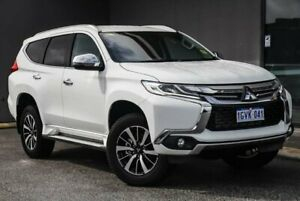 2019 Mitsubishi Pajero Sport QE MY19 GLS White 8 Speed Sports Automatic Wagon Osborne Park Stirling Area Preview