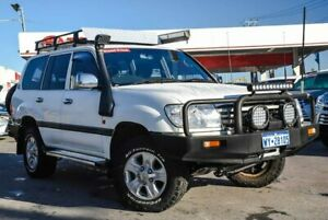 2006 Toyota Landcruiser HDJ100R Upgrade II GXL (4x4) Powder White 5 Speed Manual Wagon Osborne Park Stirling Area Preview