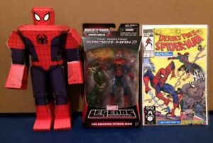 MARVEL LEGENDS SPIDER-MAN BAF AND 2 OTHER COLLECTIBLES FOR FREE