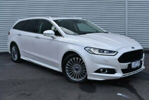 2017 Ford Mondeo MD 2017.00MY Titanium PwrShift White 6 Speed Sports Automatic Dual Clutch Wagon Epping Whittlesea Area Preview