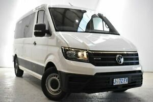 2019 Volkswagen Crafter SY1 MY20 Minibus MWB 4MOTION TDI410 White 8 Speed Automatic Bus Launceston Launceston Area Preview