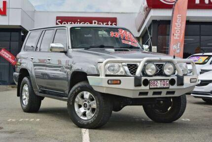 2008 Nissan Patrol GU 6 MY08 ST-L Grey 5 Speed Manual Wagon