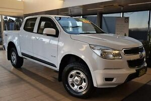 2012 Holden Colorado RG LX (4x4) Summit White 5 Speed Manual Crew Cab P/Up Belconnen Belconnen Area Preview