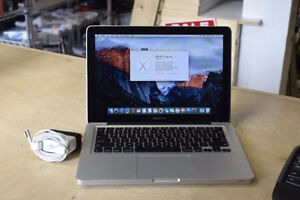 "*2011 MacBook Pro 13"" Core i5 2.4GHz 4GB RAM 256GB SSD Laptop**"
