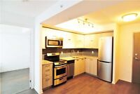 GREAT LOCATION 1+1 BDRM VERY SPACIOUS W/ LARGE 2 WALKOUT BALCONY