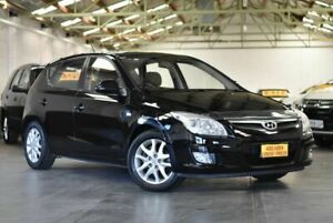 2010 Hyundai i30 FD MY10 SLX Black 5 Speed Manual Hatchback Morphett Vale Morphett Vale Area Preview