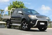 2006 Toyota Hilux GGN25R MY05 SR5 Black 5 Speed Manual Utility Chevallum Maroochydore Area Preview