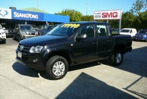 2015 Volkswagen Amarok 2H MY15 TDI420 Core Edition (4x4) Black 8 Speed Automatic Dual Cab Utility Rothwell Redcliffe Area Preview