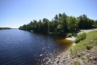 Exceptional Waterfront Lot on Kennebec Lake!