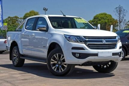 2018 Holden Colorado RG MY18 LTZ Pickup Crew Cab White 6 Speed Sports Automatic Utility McGraths Hill Hawkesbury Area Preview
