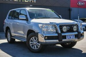 2007 Toyota Landcruiser VDJ200R GXL Silver 6 Speed Sports Automatic Wagon Midvale Mundaring Area Preview