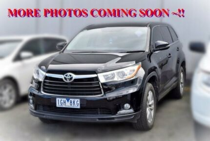 2015 Toyota Kluger GSU50R GX 2WD Black 6 Speed Sports Automatic Wagon