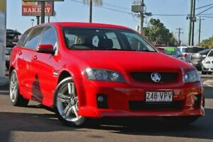 2009 Holden Commodore VE MY10 SV6 Sportwagon Red 6 Speed Sports Automatic Wagon