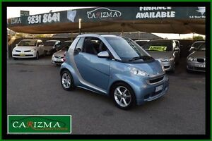 2011 Smart ForTwo 451 Cabrio Blue 5 Speed Automated Manual Cabriolet Toongabbie Parramatta Area Preview
