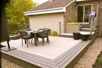 restauration de patio/deck/clôture