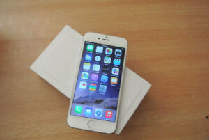6plus 16GB WHITE BELL/VIRGIN (IN EXCELLENT NOT A SINGLE SCRATCH)