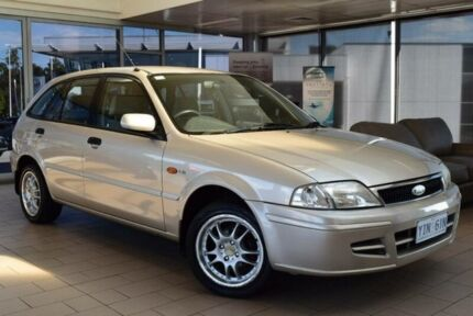 2001 Ford Laser KN LXI Gold 5 Speed Manual Hatchback