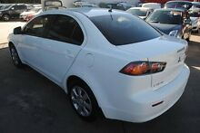 2011 Mitsubishi Lancer CJ MY12 ES White 6 Speed Constant Variable Sedan Hyde Park Townsville City Preview