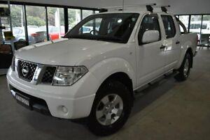 2014 Nissan Navara D40 S9 Silverline SE White 5 Speed Automatic Utility Port Macquarie Port Macquarie City Preview