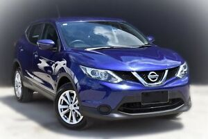 2015 Nissan Qashqai J11 ST Ink Blue 1 Speed Constant Variable Wagon Berwick Casey Area Preview