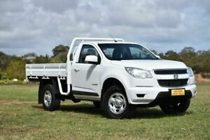 2016 Holden Colorado RG MY16 LS 4x2 White 6 Speed Manual Cab Chassis Enfield Port Adelaide Area Preview