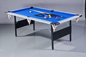 Pool Table Folding 7ft (2.1m) by 4ft (1.2m) Very Solid and Heavy