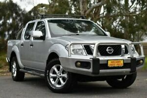 2012 Nissan Navara D40 S6 MY12 ST Silver 6 Speed Manual Utility Melrose Park Mitcham Area Preview