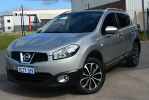 2013 Nissan Dualis J10 MY13 TI-L (4x2) Silver 6 Speed CVT Auto Sequential Wagon Kewdale Belmont Area Preview