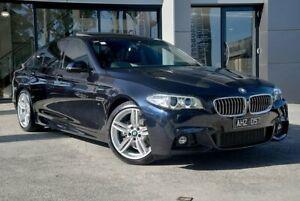 2016 BMW 520d F10 LCI Luxury Line Steptronic Blue 8 Speed Sports Automatic Sedan Berwick Casey Area Preview