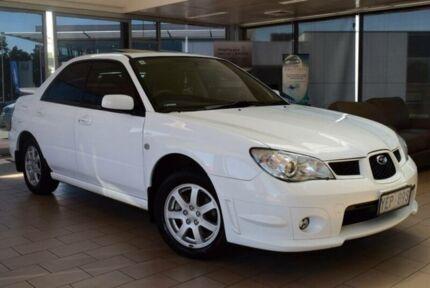 2006 Subaru Impreza MY06 2.0I Luxury (AWD) White 5 Speed Manual Sedan
