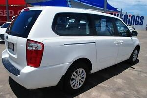 2012 Kia Grand Carnival VQ MY13 SLi White 6 Speed Sports Automatic Wagon Townsville Townsville City Preview