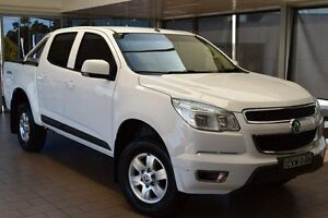 2014 Holden Colorado RG MY14 LT (4x4) Summit White 6 Speed Automatic Crew Cab P/Up Belconnen Belconnen Area Preview