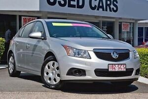 2011 Holden Cruze JH Series II MY12 CD Silver 5 Speed Manual Hatchback Taringa Brisbane South West Preview