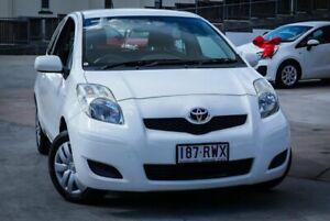 2011 Toyota Yaris Glacier White Manual Ipswich Ipswich City Preview