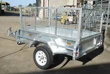 6x4 Hot Dip Gal Trailer with Cage , Spare Wheel and Fully Welded Maroochydore Maroochydore Area Preview
