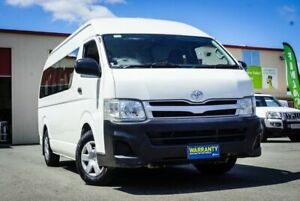 2013 Toyota HiAce KDH223R MY12 Commuter High Roof Super LWB White 4 Speed Automatic Bus Coopers Plains Brisbane South West Preview