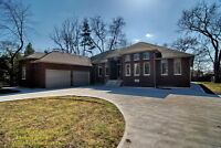 Luxurious Ranch on large lot 8 bedrooms 4.5 bath 2 ensuites