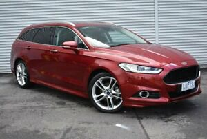 2017 Ford Mondeo MD 2017.00MY Titanium PwrShift Red 6 Speed Sports Automatic Dual Clutch Wagon Epping Whittlesea Area Preview