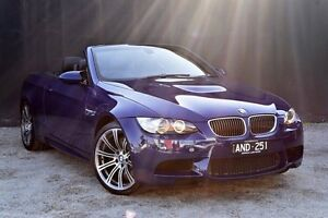 2008 BMW M3 E93 M-DCT Blue 7 Speed Sports Automatic Dual Clutch Convertible Berwick Casey Area Preview