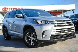 2017 Toyota Kluger GSU55R MY17 GX (4x4) Silver 8 Speed Automatic Wagon Osborne Park Stirling Area Preview