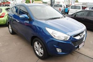 2011 Hyundai ix35 LM MY11 Elite AWD Blue Ocean 6 Speed Sports Automatic Wagon Townsville Townsville City Preview