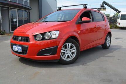 2015 Holden Barina TM MY15 CD Red 5 SP MANUAL Hatchback