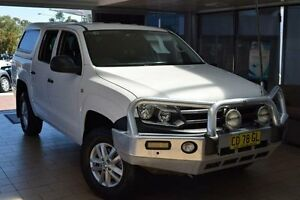 2015 Volkswagen Amarok 2H MY14 TDI420 Trendline (4x4) Candy White 8 Speed Automatic Dual Cab Utility Belconnen Belconnen Area Preview