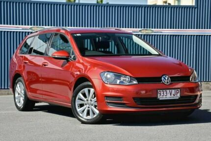 2015 Volkswagen Golf VII MY15 90TSI DSG Comfortline Red 7 Speed Sports Automatic Dual Clutch Wagon Tweed Heads Tweed Heads Area Preview