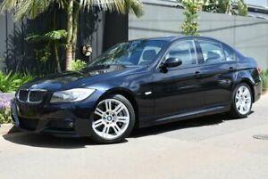2006 BMW 3 Series E90 335i Steptronic Black 6 Speed Sports Automatic Sedan Brighton Holdfast Bay Preview