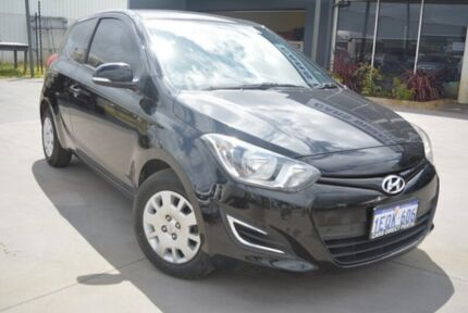 2014 Hyundai i20 PB MY14 Active Black 6 Speed Manual Hatchback Welshpool Canning Area Preview