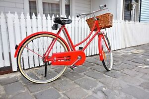 Pride reduced! Red vintage classical bike in immaculate condition Albert Park Port Phillip Preview