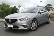 2014 Mazda 6 GJ1031 MY14 Sport SKYACTIV-Drive Grey 6 Speed Sports Automatic Wagon Chevallum Maroochydore Area Preview