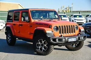 2019 Jeep Wrangler JL MY20 Unlimited Rubicon Orange 8 Speed Automatic Hardtop