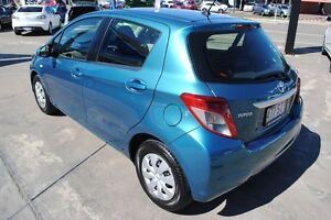 2012 Toyota Yaris NCP130R YR Blue 4 Speed Automatic Hatchback Hyde Park Townsville City Preview